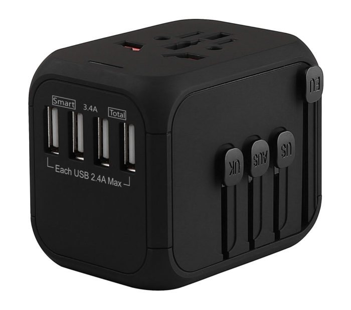 Universal Worldwide Travel Adapter